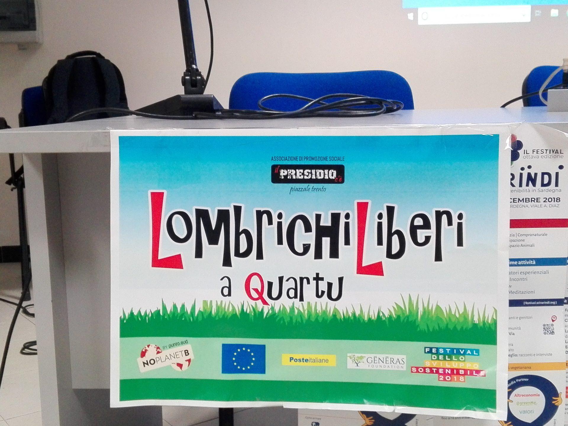 Cover Lombrichi Liberi a Quartu